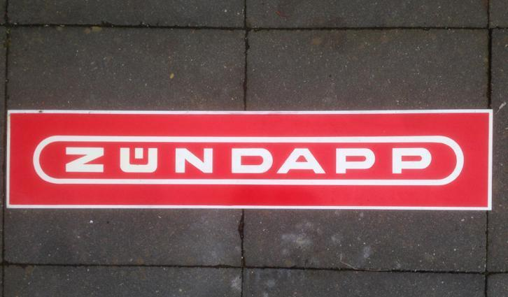 Zundapp reclamebord 1 meter breed