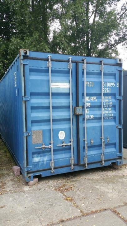 Container / Zeecontainer 20 FT i.z.g.st .