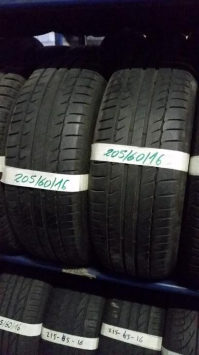 2x 205-60-16 Michelin 6-7mm Incl Montage 205 60 16