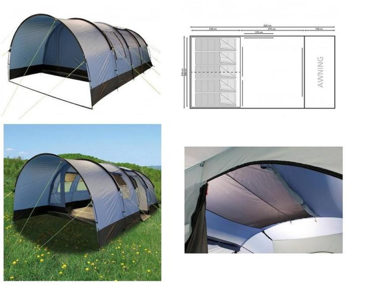 Ongeopende 5 persoons tunnel tent