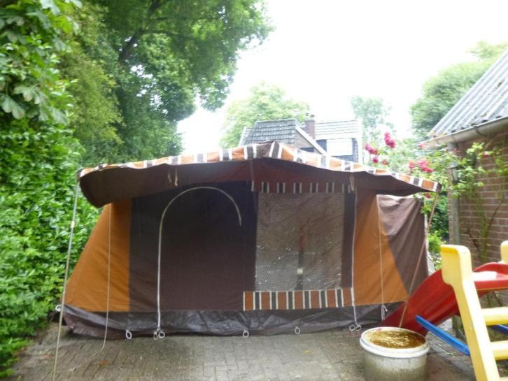 bungalowtent 6 persoons