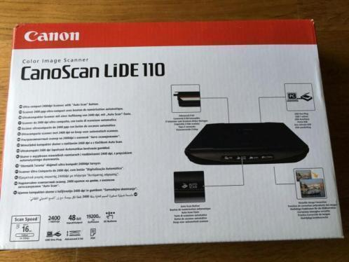 Canon scanner CanoScan LiDE 110