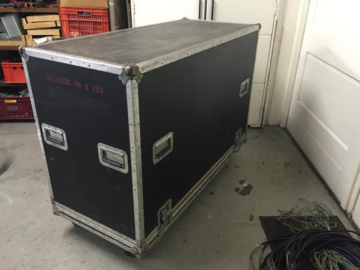 Flightcase + 19 inch rack