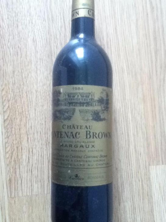 1984 Chateau Cantenac Brown, Margaux