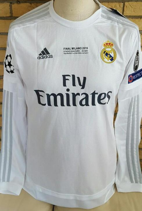 Champions League Finale Shirt 2016 Real Madrid
