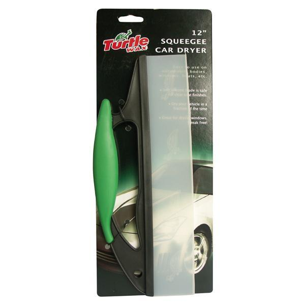 Squeegee car dryer