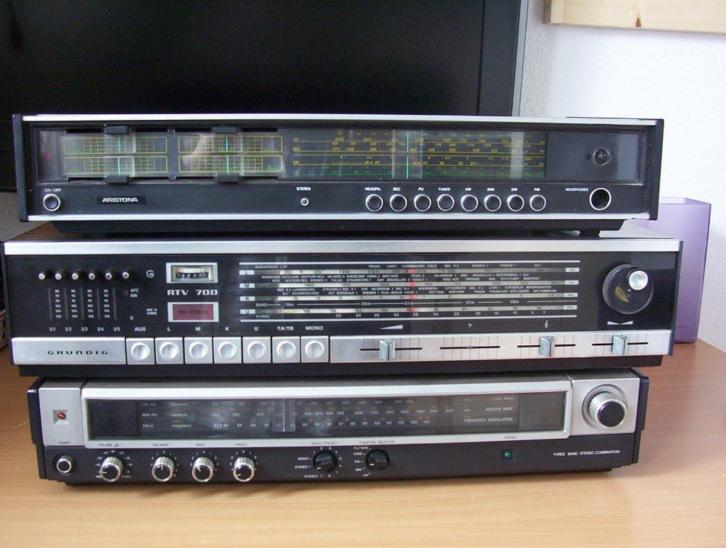 Philips/Grundig/Aristona Radio's