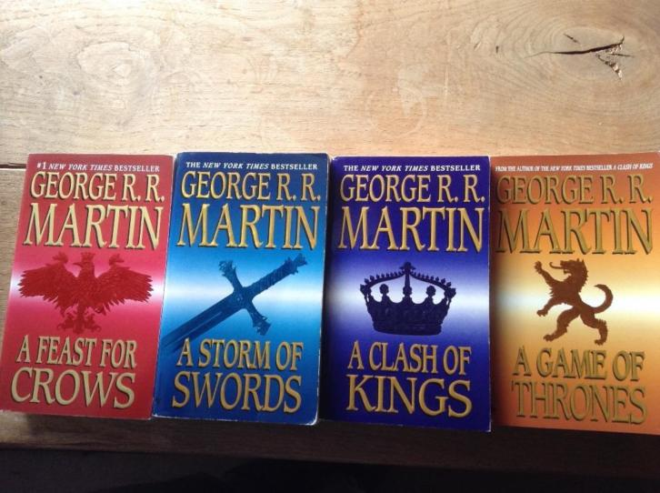 A Song of Ice and Fire - vier delen (Game of Thrones)