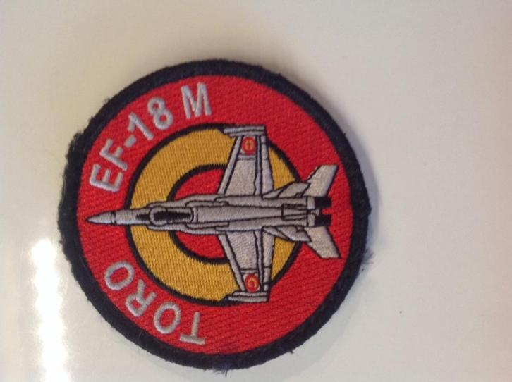 Badge Spaanse luchtmacht (F18 SQN)