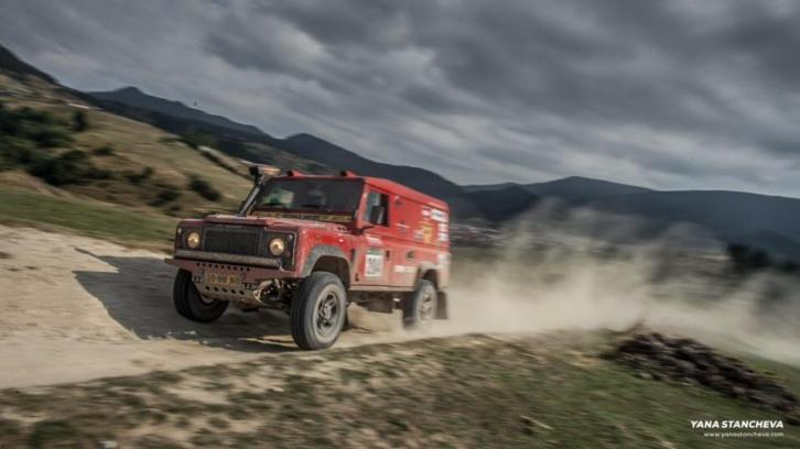 Land rover defender, cross country rally , T2 knaf.100%! Td5