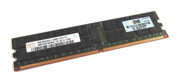Hynix 8GB PC2-5300 DDR2-667MHz ECC Registered CL5 240-Pin
