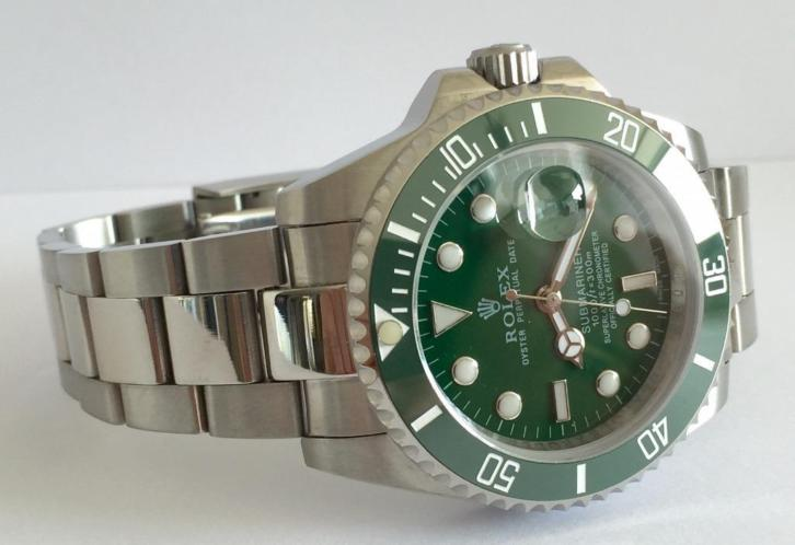 Rolex Submariner Green Ceramic