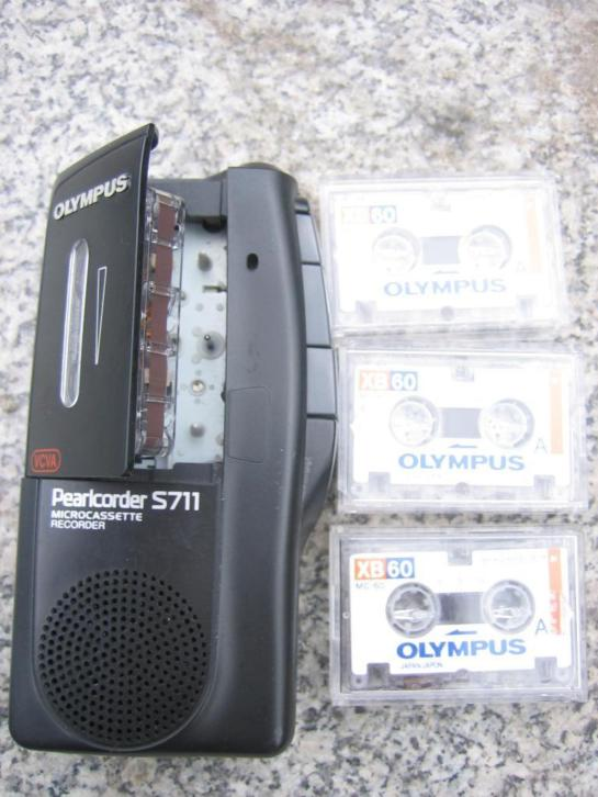 Olympus Pearlcorder S711 MICRO CASSETTE