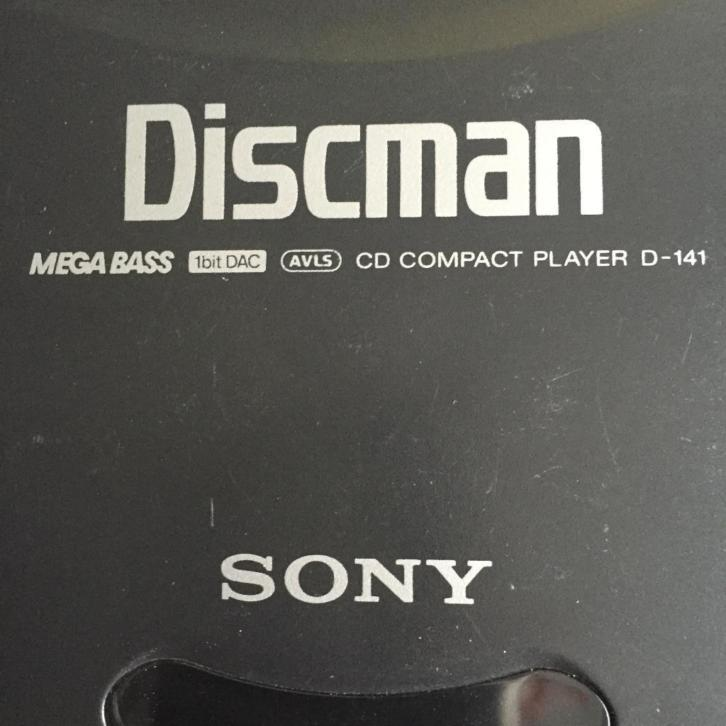Sony Discman CD Compact Player D-141
