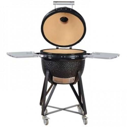 The Real Egg Medium 20 Inch Kamado Zwart