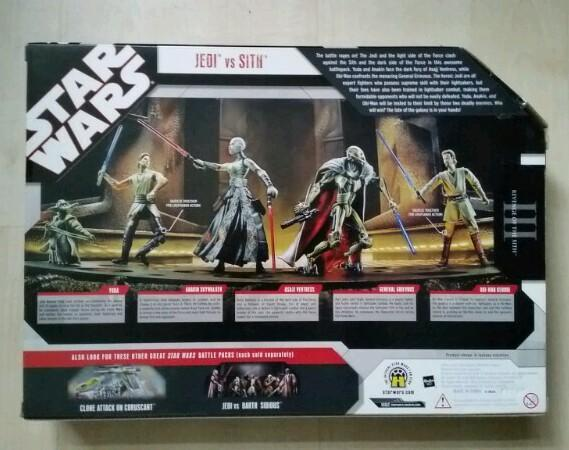Star Wars Jedi vs Sith Battle Pack *ongeopend* TAC