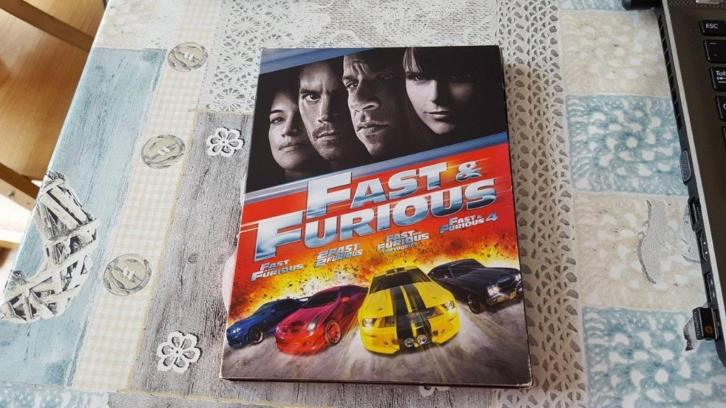 DVD/FILM - Fast & Furious 1 t/m 4 (4 disc) paul walker
