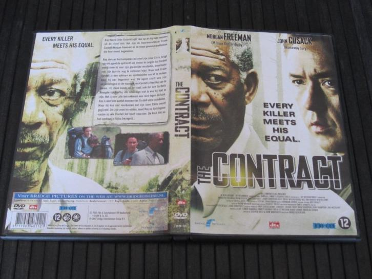 DVD - The Contract - Morgan Freeman - John Cusack