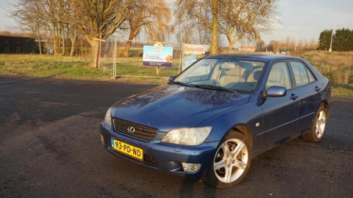 Lexus IS200 2.0 Business 2003 Blauw