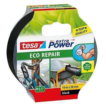 Tesa textieltape Extra Power Eco Repair 10m x 38mm