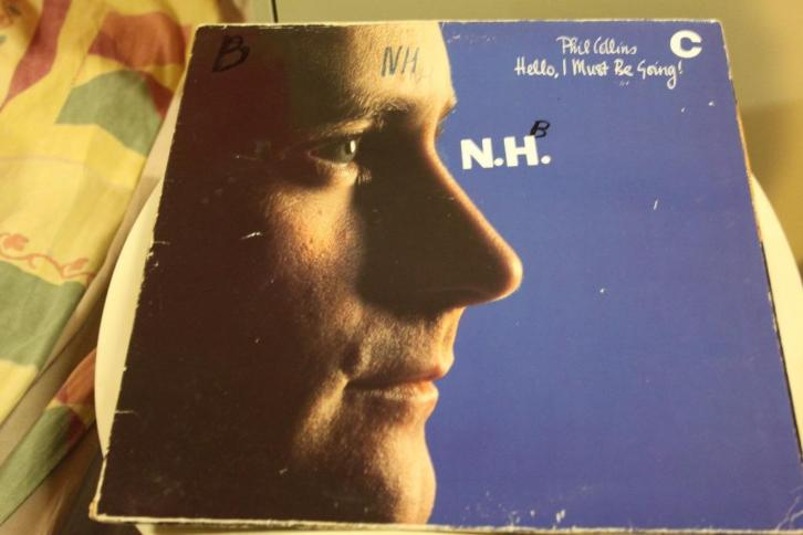 172r - lp - phil collins - hello i must be going