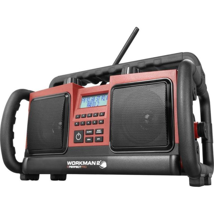 Perfectpro Workman Outdoor bouwplaatsradio