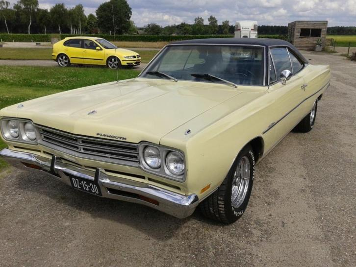 1969 Plymouth Satellite coupe Matching Numbers