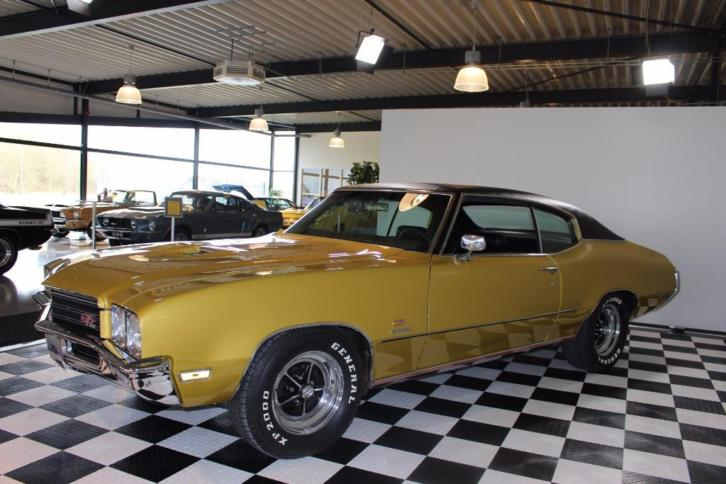 Ultra rare 71' Buick GS455 STAGE 1