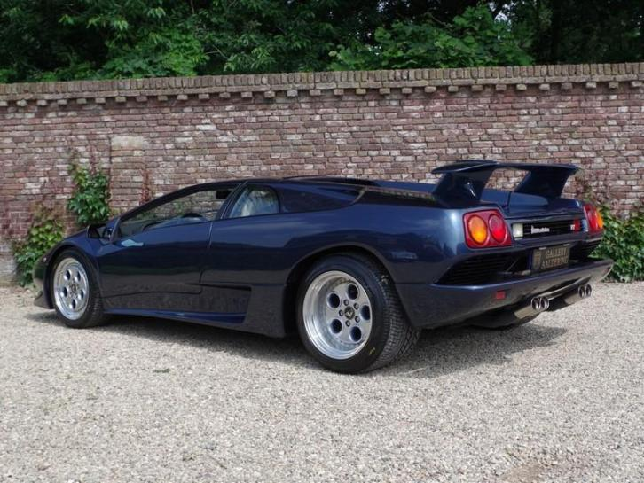 Lamborghini Diablo VT from prominent first owner, only 29000