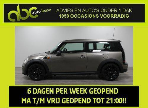 Mini Clubman 1.6 One - Businessline - Leer - Navigatie