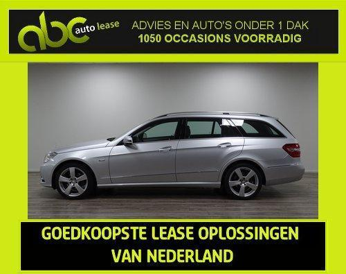 Mercedes E220 CDI 170PK Automaat Avantgarde - Full Options!