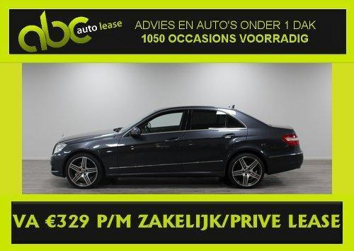 MERCEDES-BENZ E-KLASSE E350 V6 - Automaat - Full Options