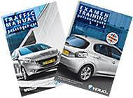 Traffic manual, license B & Pre-examtest, 535 questions