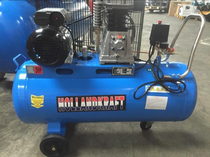 Air Compressor Professional 100L 3HP, Holland Kraft!!!