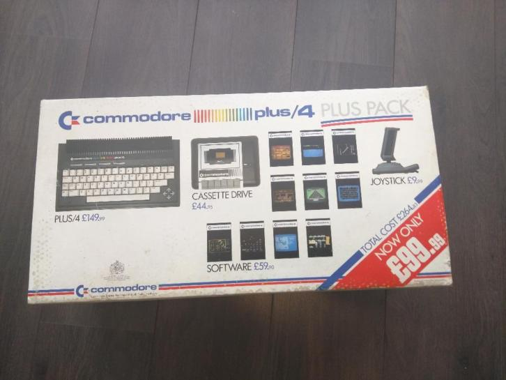Commodore Plus/4 Plus Pack zgan