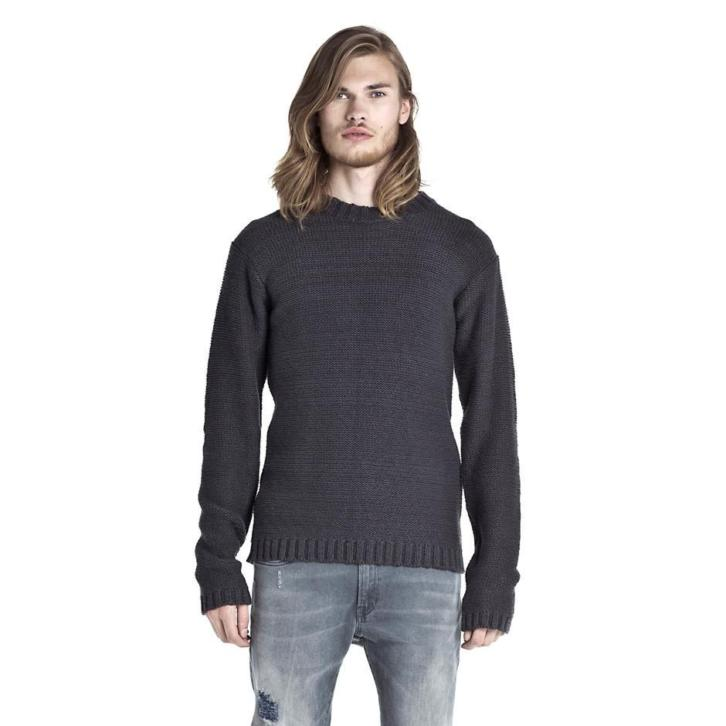 G-sus knitted sweater, donkerblauw