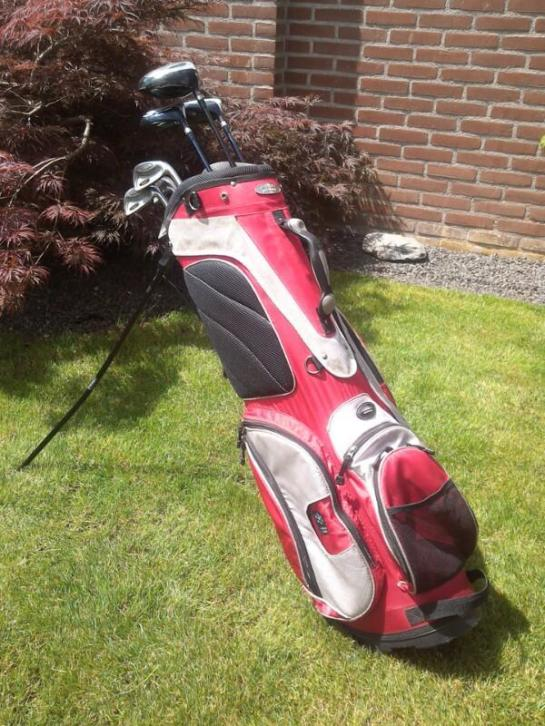 Protech heren golfset graphitte shafts.