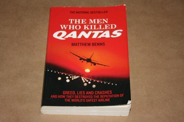Boek - The men who killed Qantas