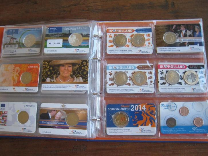 Grote collectie coincards