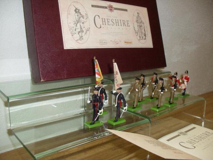 LIMITED EDITION WILLIAM BRITAIN: 22nd CHESHIRE REG mint OVP