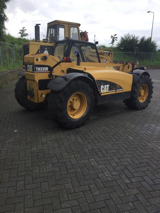 Caterpillar th 330 b Verreiker