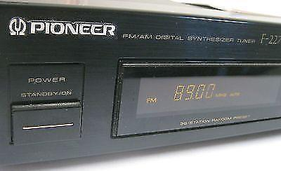 PIONEER F-227L FM/AM DIGITAL SYNTONISEUR TUNER 36-Station