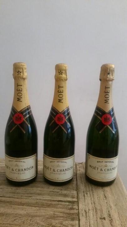3x Moet & Chandon Imperial