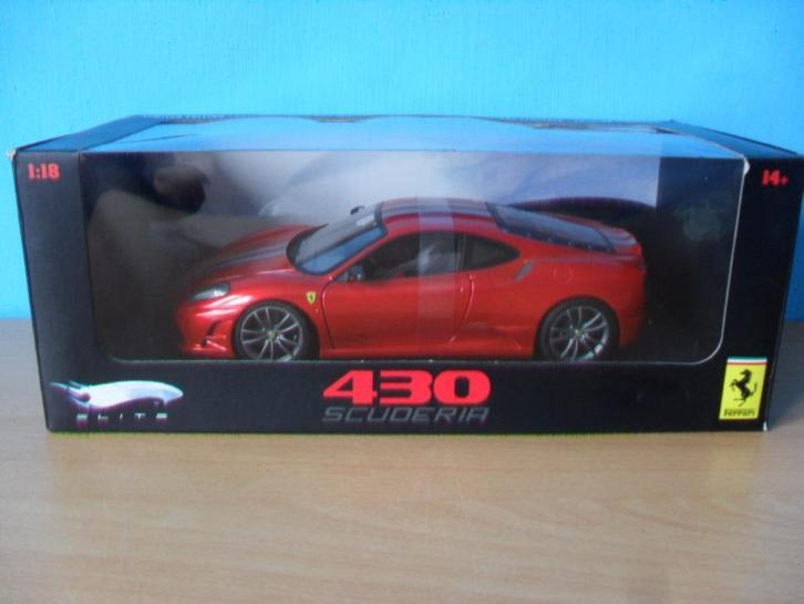 Ferrari F430 Scuderia 1:18 Hot Wheels Elite
