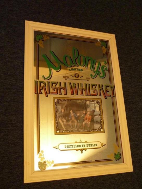 Spiegel. Maloney's Irish Whisky.