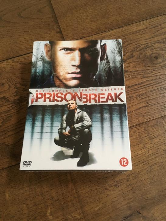Dvd box eerste seizoen Prison Break