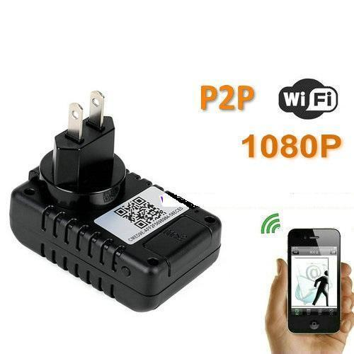 Spy camera telefoon oplader WIFI via smartphone