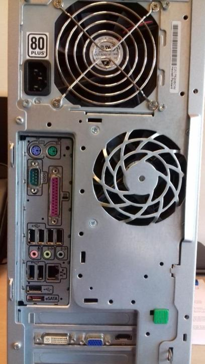 """HP xw4600 Workstation incl. HP L1950 19"""" Monitor"""