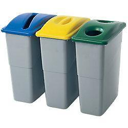 Rubbermaid Papierdeksel voor container Slim Jim® 60 l 588 x