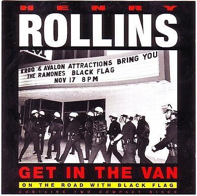 cd - Henry Rollins - Get In The Van: On The Road With Blac..